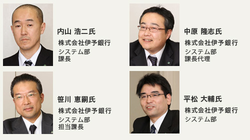 株式会社伊予銀行様の担当者画像