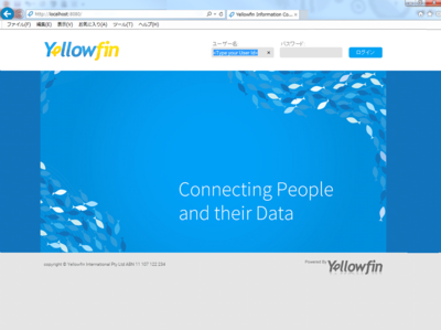 Yellowfin login