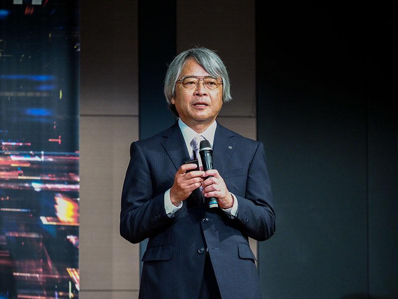 串間和彦代表取締役社長