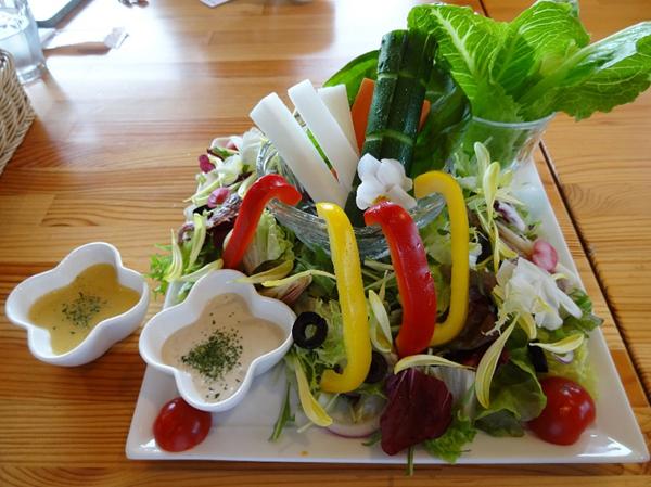 夏野菜サラダのイメージ
