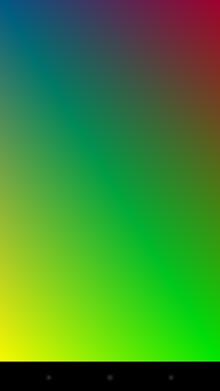 図1. Daydreamアプリケーション例1(カラー)