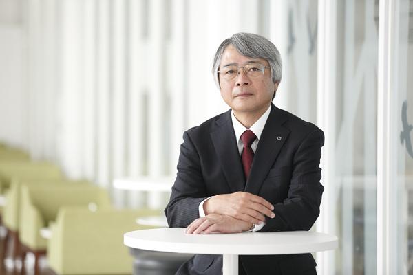 代表取締役社長串間和彦の写真