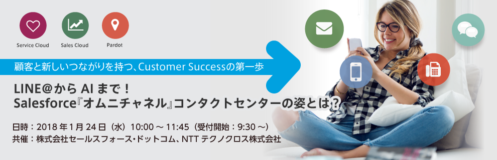 Salesforceオムニチャネルコンタクトセンターセミナー