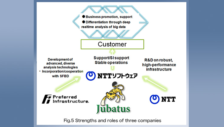 「Fig. 5  Strengths and roles of three companies」