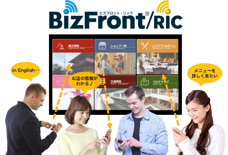 BizFront/RIC利用イメージ